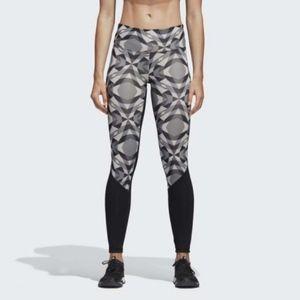 Adidas Highwaisted high rise leggings yoga pants